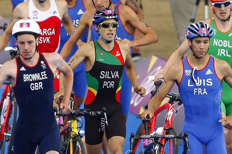 João Silva foi prata no triatlo