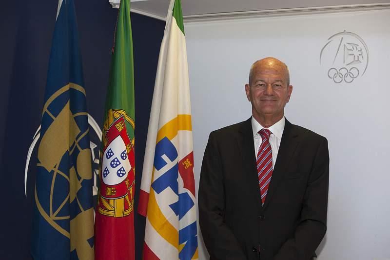 Manuel Mello Breyner, Presidente da federação de automobilismo