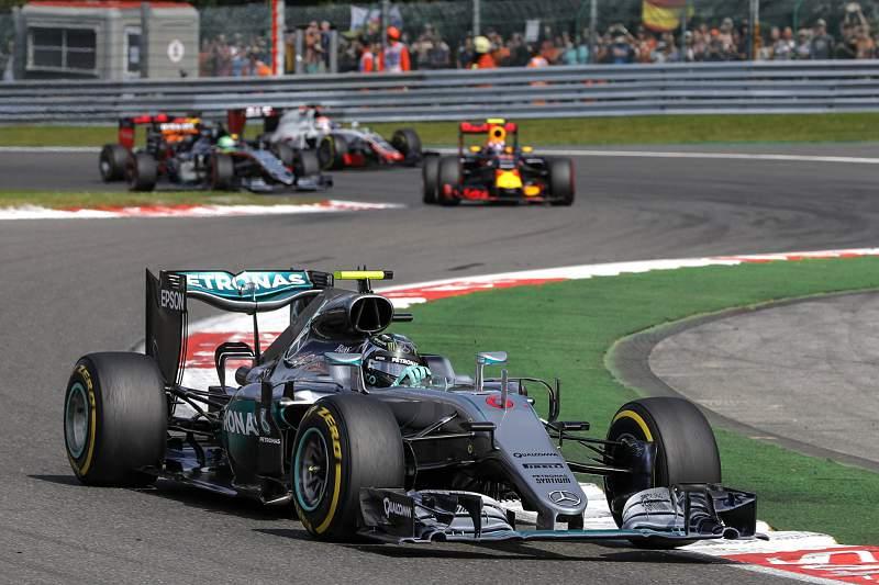 Nico Rosberg, da Mercedes, vence Grande Prémio da Bélgica em Fórmula 1