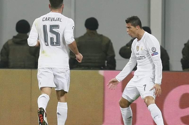 Cristiano Ronaldo rebenta com a tampa do Ketchup