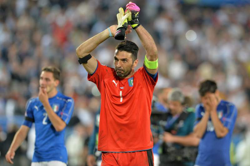 Gianluigi Buffon é internacional italiana há vários anos.