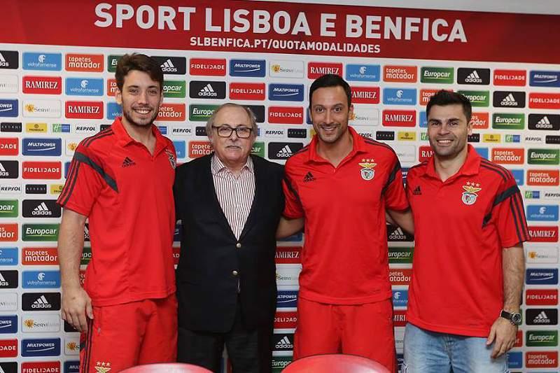 Tomás Barroso, Diogo Carreira e Mário Fernandes renovaram contrato com o SL Benfica.