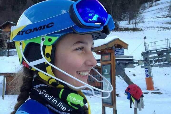 Guerillot, a segunda esquiadora portuguesa a ganhar medalhas em provas internacionais