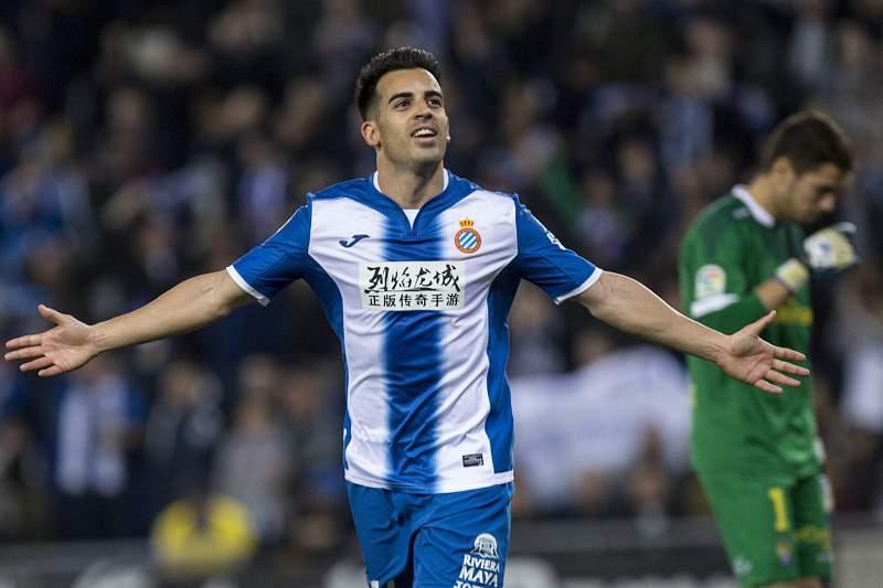 Jose Manuel Jurado marca para o Espanyol