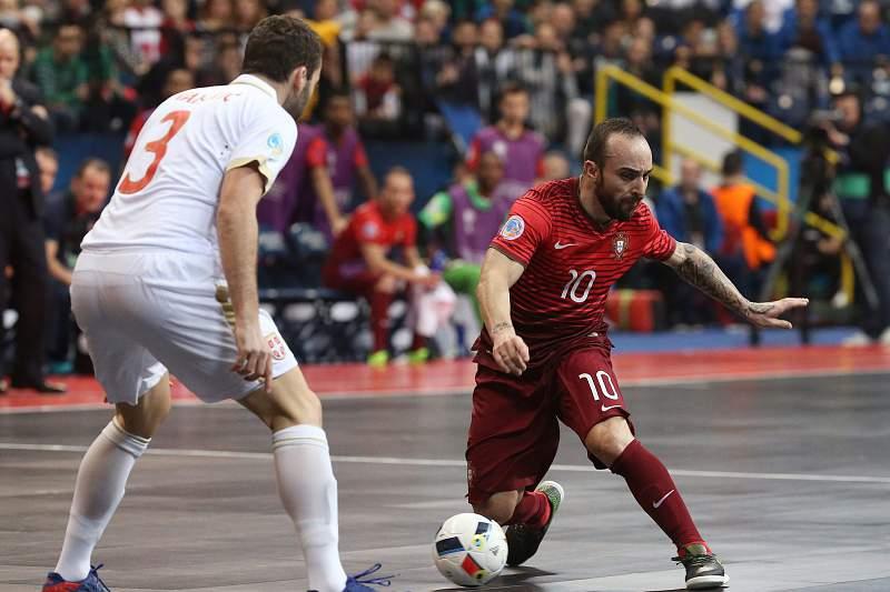 Futsal: Sérvia - Portugal