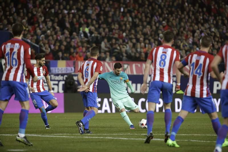 Lionel Messi assinou mais uma 'obra de arte' no seu currículo de golos pelo Barcelona