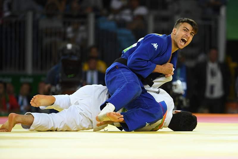 Fabio Basile de ouro no judo
