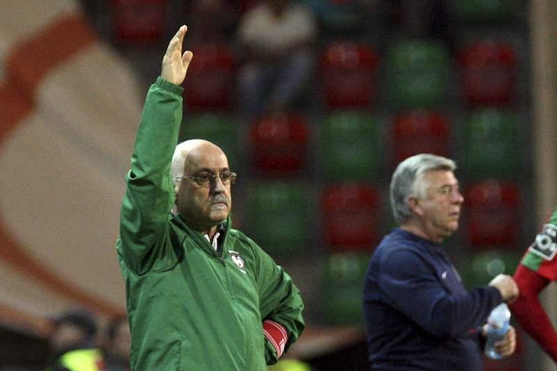 Nelo Vingada, treinador do Marítimo