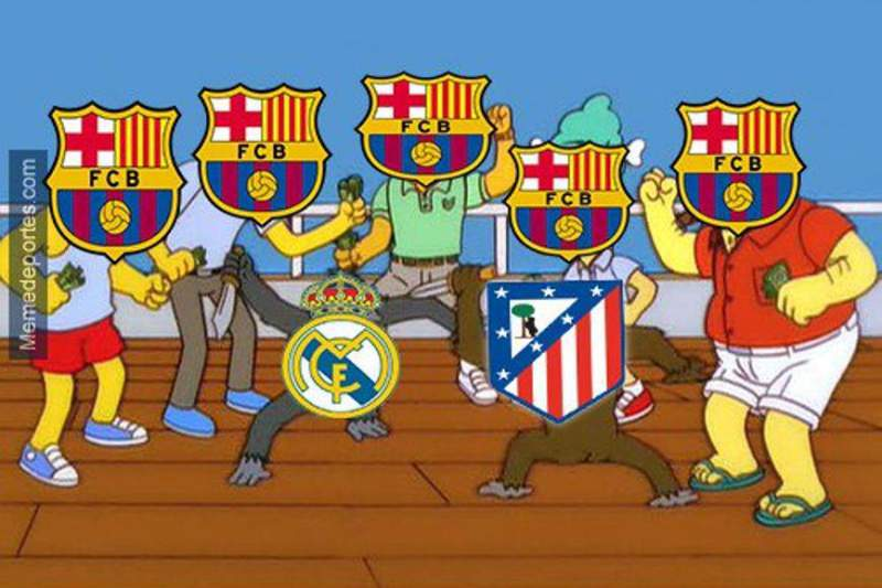 Meme Atletico Madrid - Real Madrid