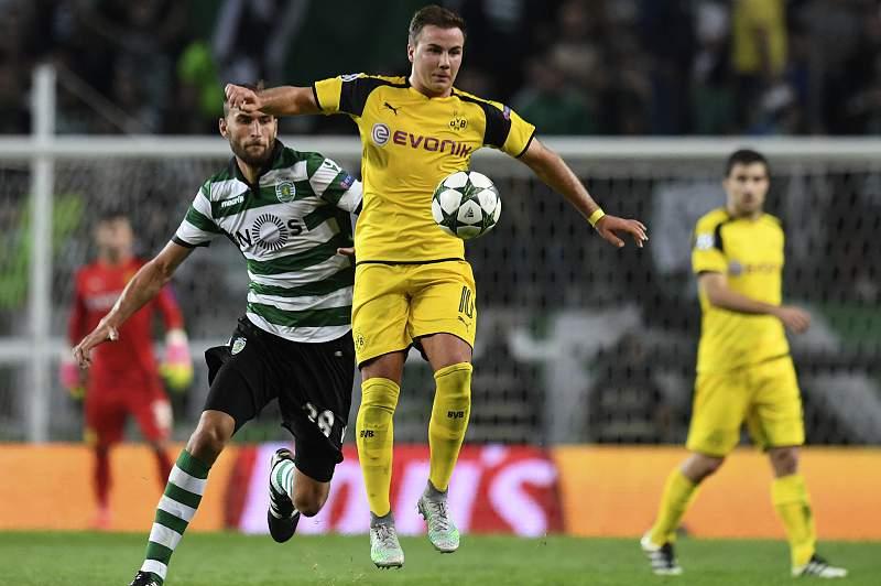Mario Gotze em ação pelo Borussia Dortmund