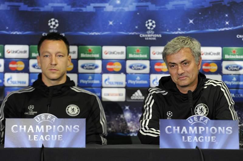 Terry e Mourinho