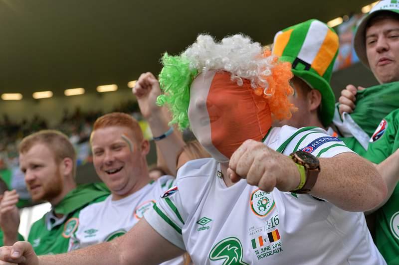 Irlanda, irlandeses, adeptos