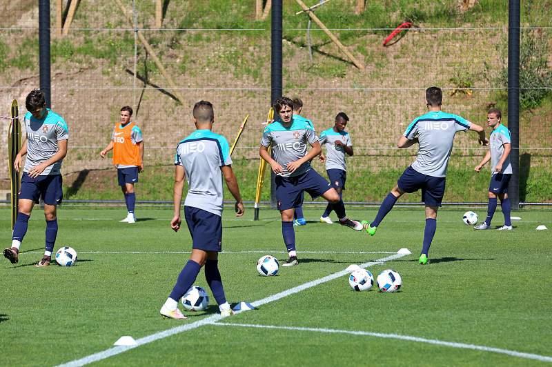 Sub 19: Treino da seleção portuguesa