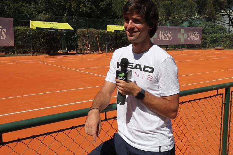 Gastão Elias é o protagonista da nova edição da rubrica Break Point
