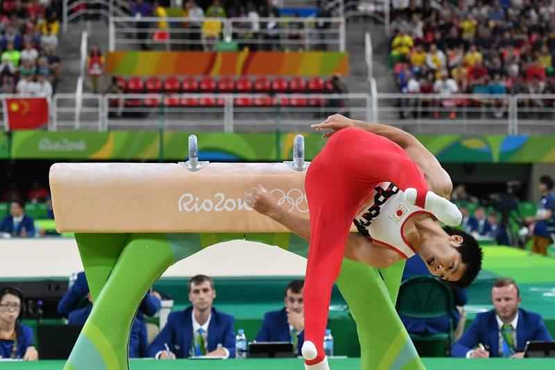 Ginástica/Rio2016: Koji Yamamuro, ginasta japonês