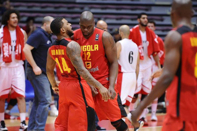 Afrobasket2015: Angola - Egito