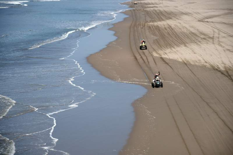 Paisagens peruanas vão estar de fora da próxima edição do Rali Dakar