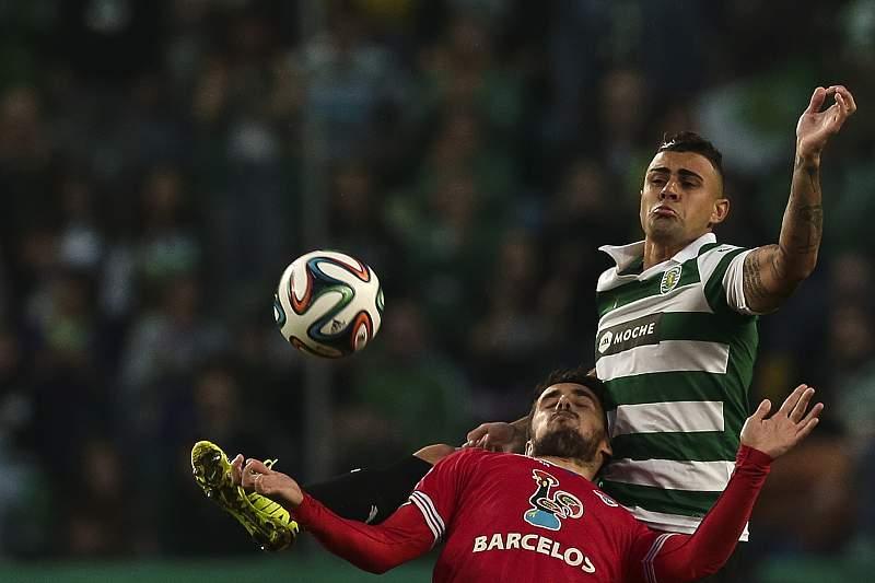 Hugo Vieira, num Gil Vicente-Sporting