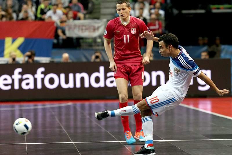 Euro Futsal: Rússia - Sérvia