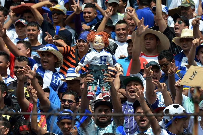 Adeptos das Honduras