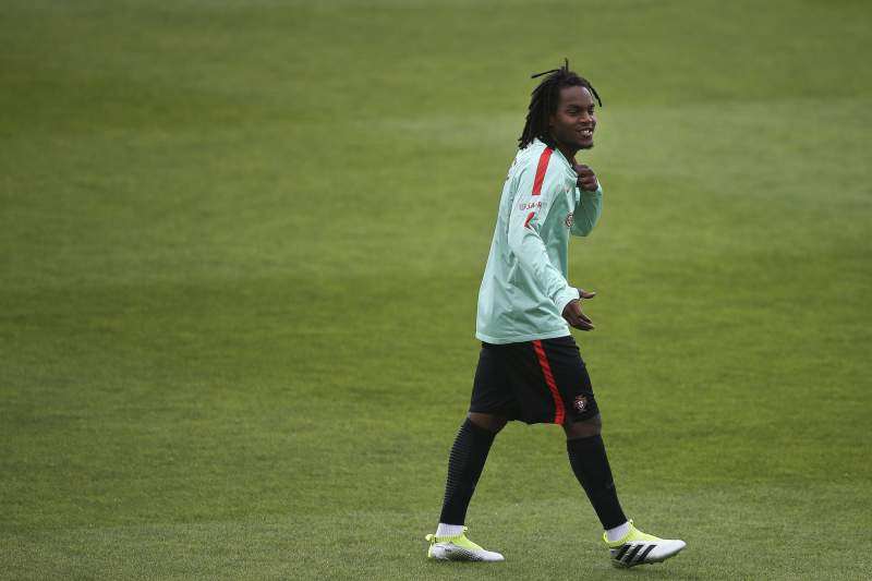 Portugal national team training