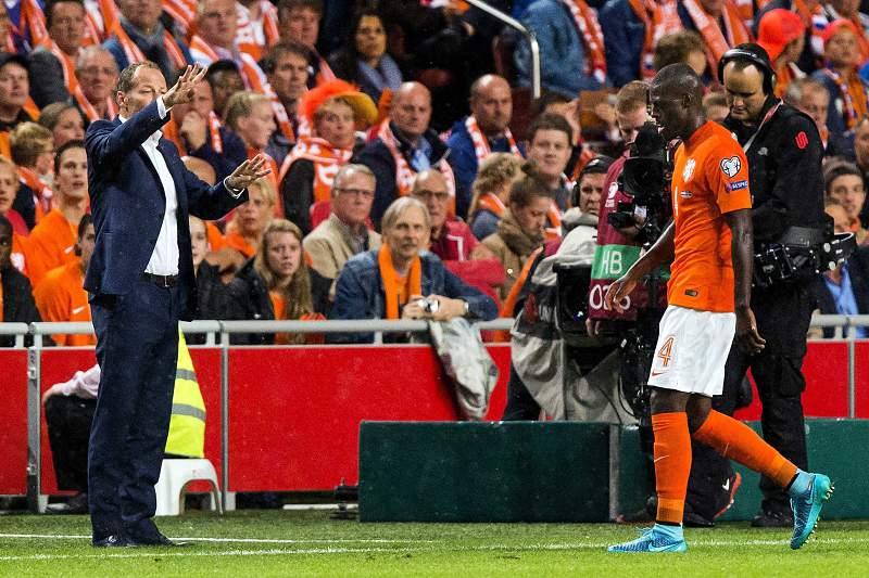 Bruno Martins Indi foi expulso no jogo da Holanda