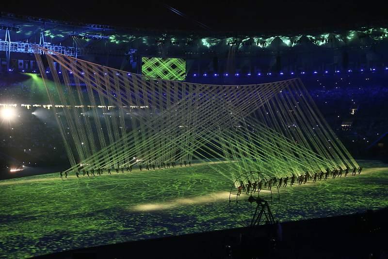 Rio2016: Cerimónia de abertura RIO2016