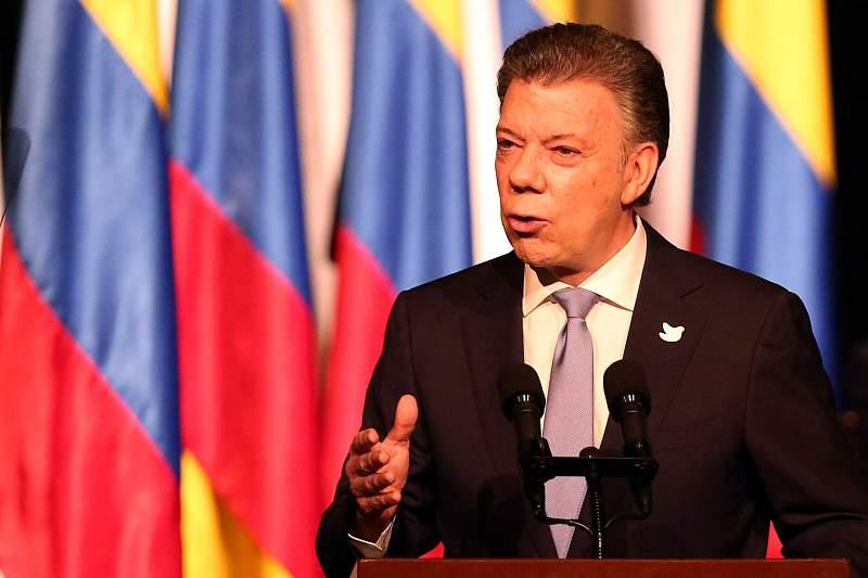 Juan Manuel Santos, Presidente Colômbia