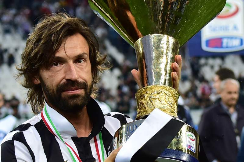 Juventus homenageia Andrea Pirlo
