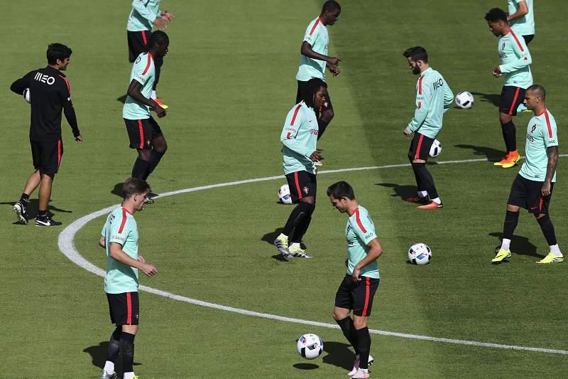 Treino da seleção portuguesa