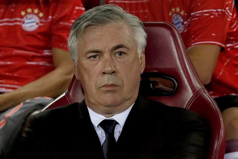 Carlo Ancelotti, treinador do Bayern Munique