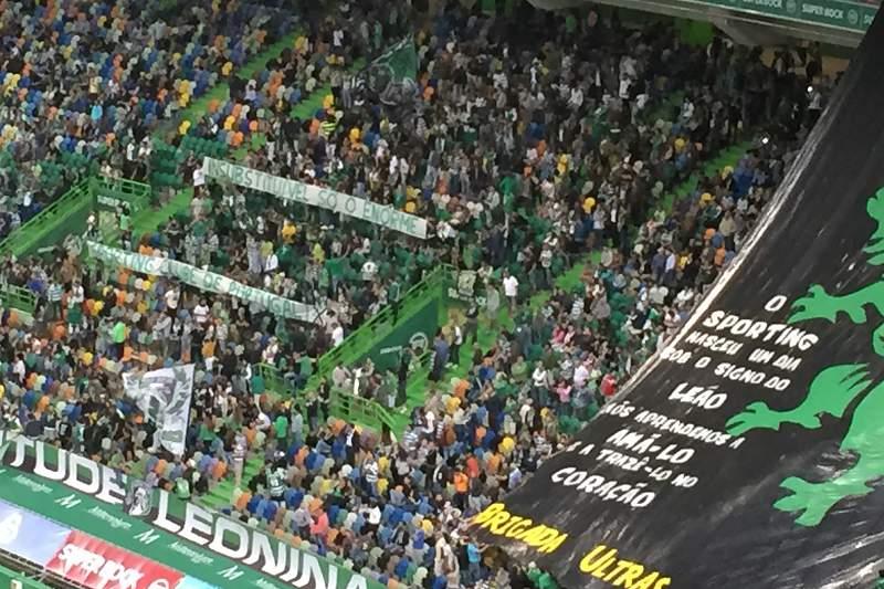 Topo Sul do Estádio de Alvalade