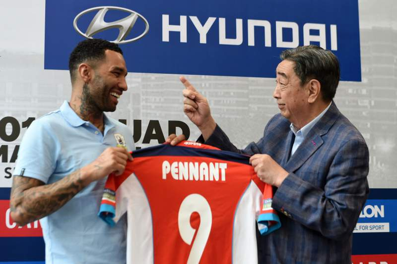 Jermaine Pennant no Tampine Rovers