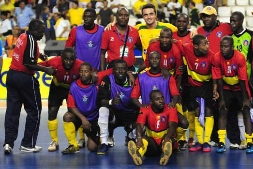 futsal angola