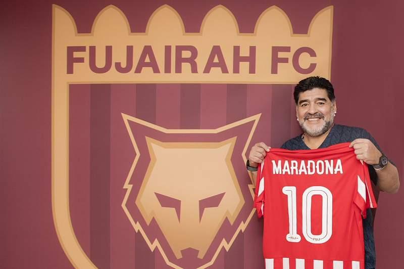 Maradona é o treinador do Al Fujairah