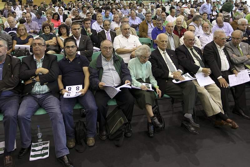 Sócios do Sporting participam numa assembleia-geral do clube