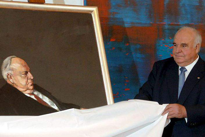 Helmut Kohl Foto: EPA