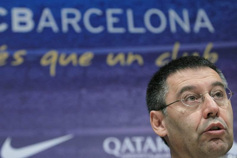 HIGH COURT'S HAS IMPUTED FC BARCLONA'S PRESIDENT JOSEP MARIA BARTOMEU