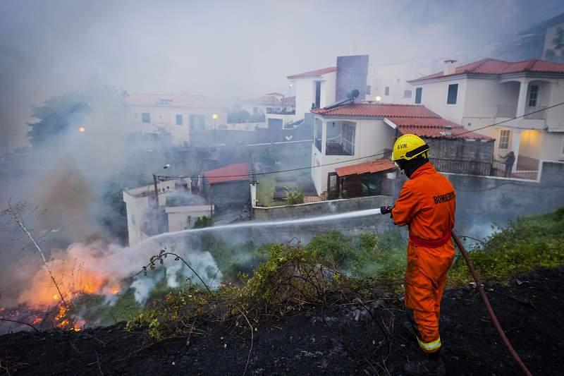 Incendios Madeira