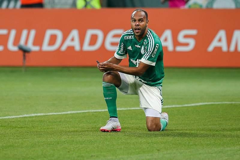 Alecsandro, jogador do Palmeiras