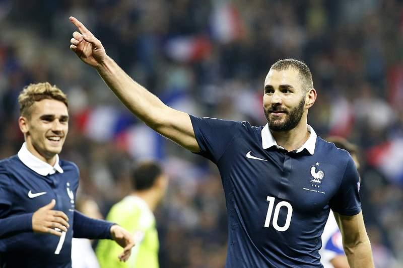 Benzema fora da seleção francesa