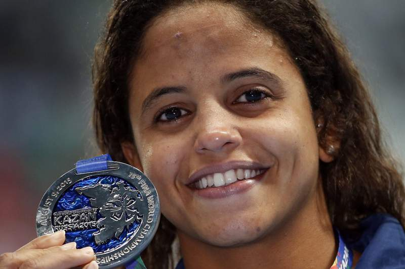 Etiene Medeiros, atleta brasileira