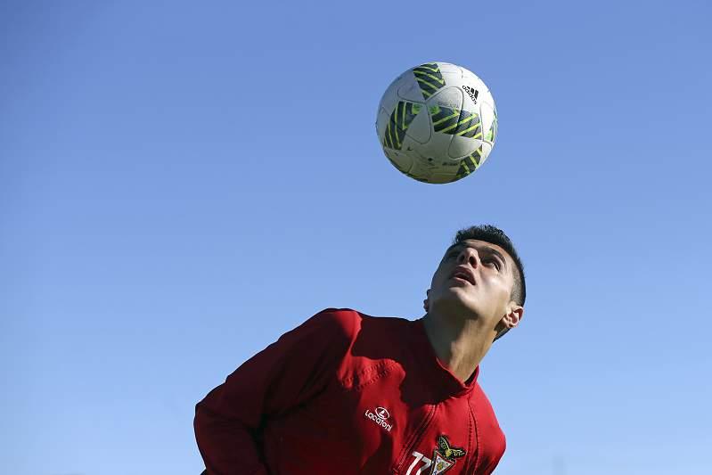 Anas Alaji 'fintou' a guerra na Síria para jogar no Desportivo das Aves