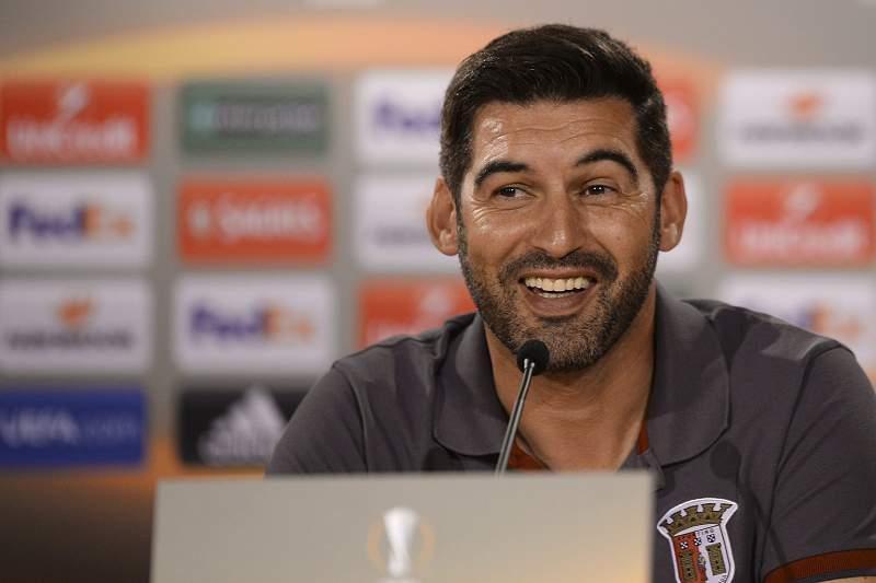 SC Braga press conference
