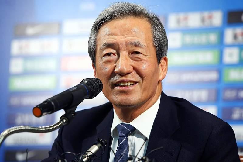Chung Mong-joon, proprietário do grupo Hyunday e antigo vice-presidente da FIFA