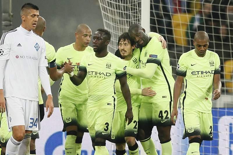 Silva marcou o segundo golo em Kiev