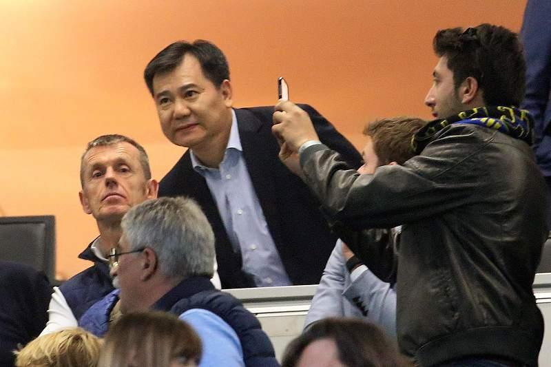 Jindong Zhang, CEO do grupo chinês especializado no retalho de eletrodomésticos Suning