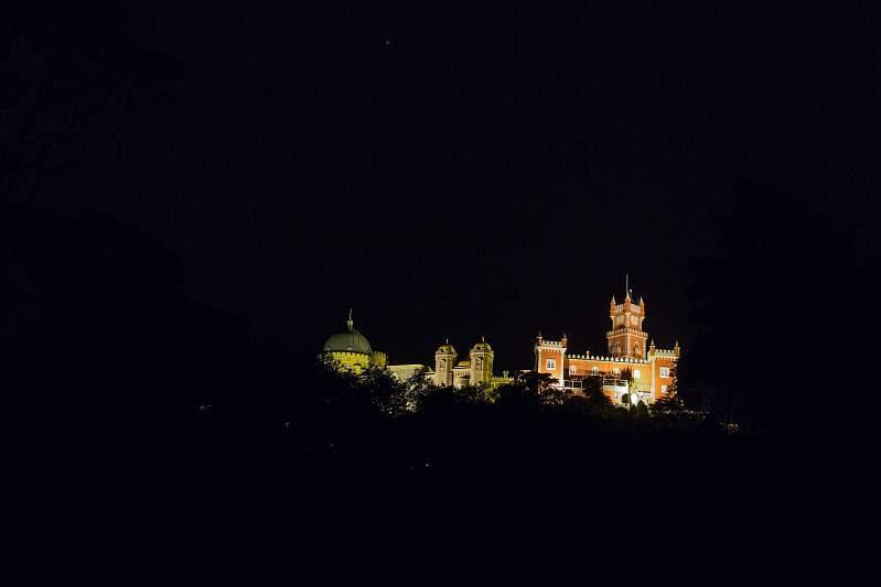 Visita noturna ao Parque e Palácio da Pena a 4 de julho