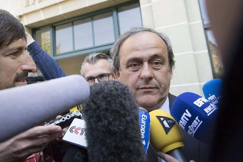 UEFA President Michel Platini at CAS