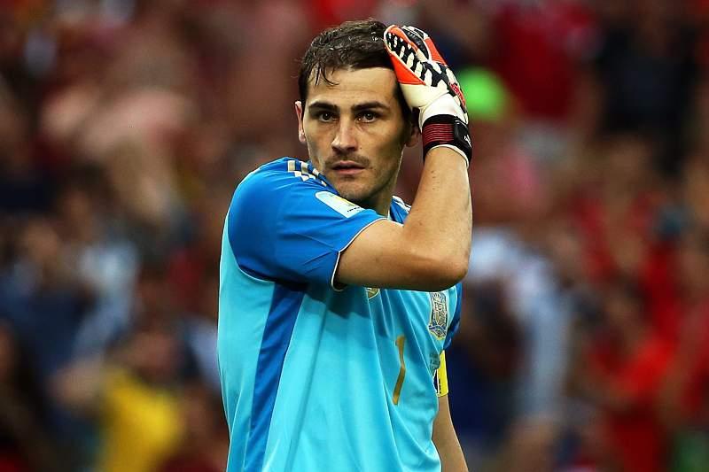 Casillas sofreu mais dois golos frente ao Chile
